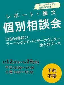 ポスター:個別相談会2015